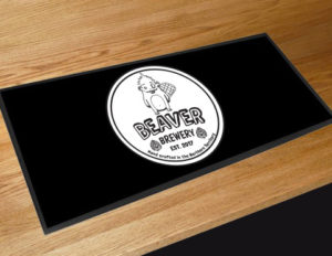 Bar Mat with Logo
