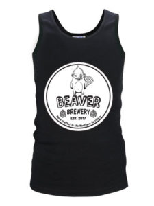Mens Singlet with logo
