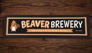 beaver bar mat
