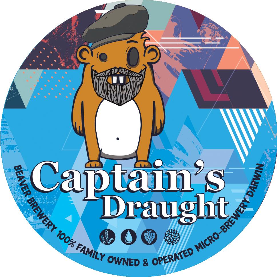 Beaver Tap Decal_Captain